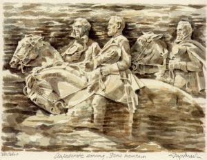 Stone Mountain - Carving by Glyn Martin