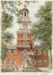 Philadelphia - Independence Hl by Glyn Martin