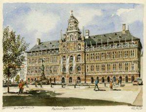 Antwerpen - Stadhuis by Philip Martin