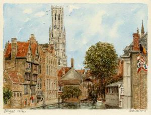 Brugge by Philip Martin
