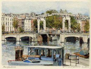 Amsterdam - Swing Bridge by Philip Martin