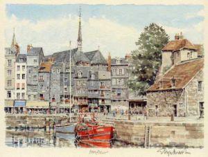 Honfleur by Glyn Martin
