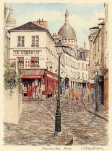 Paris - Montmartre by Glyn Martin