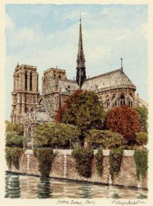 Paris - Notre Dame by Glyn Martin