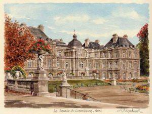 Paris - Le Palais du Lux by Glyn Martin