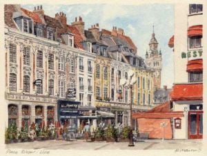 Lille - Place Rihour by Philip Martin