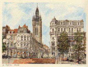 Douai - le Beffroi by Philip Martin