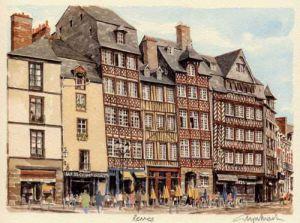 Rennes by Glyn Martin