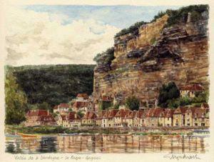 Dordogne - la Roque-Gageac by Glyn Martin