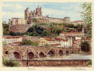 Beziers by Glyn Martin
