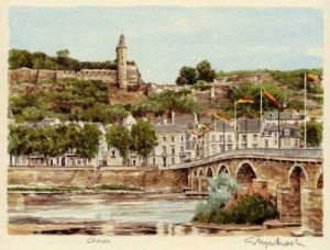Chinon by Glyn Martin