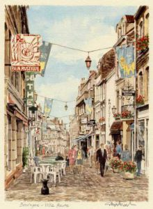 Boulogne - Ville Haute by Glyn Martin