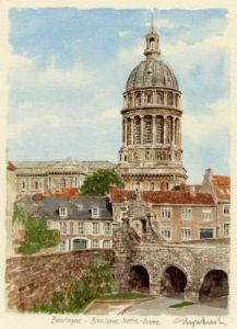 Boulogne, Basilique Notre Dame by Glyn Martin