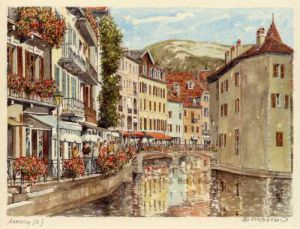 Annecy (2) by Philip Martin