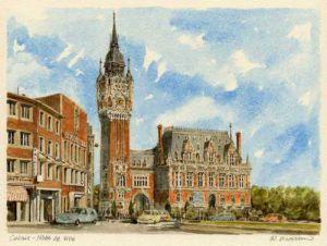 Calais - Hotel de ville by Philip Martin