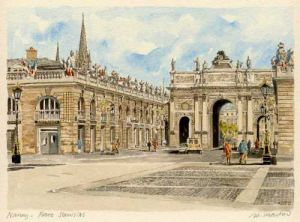 Nancy - Place Stanislas by Philip Martin