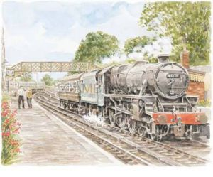 Bridgnorth - railway by Glyn Martin