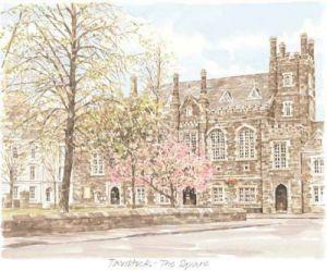 Tavistock - The Square by Glyn Martin
