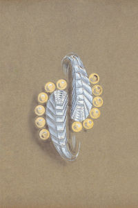 Jewellery Designs V by Anonymous