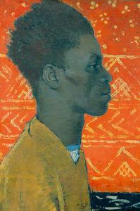 Negroin Profile by Glyn Warren Philpot
