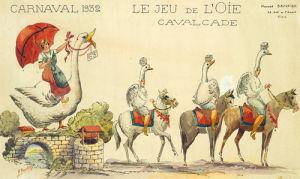 Carnaval De Nice 1932 by Sauvigo