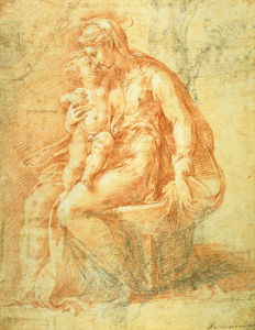 The Madonna and Child by Pamigianino