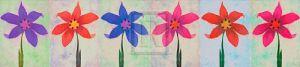 Flower Panel II by Katja Marzahn