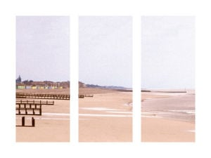 Beach Triptych by Bill Philip