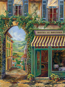 Hotel Le Boulevard by Ginger Cook