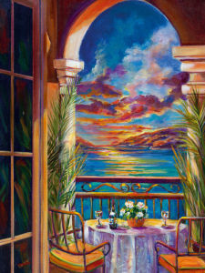 Sunset Rendezvous I by Ginger Cook