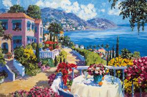 Italian Lakes III by Julian Askins