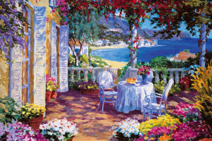 Italian Lakes IV by Julian Askins