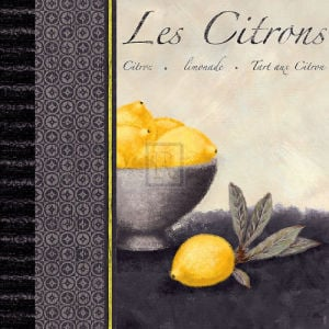Les Citrons II by Linda Wood