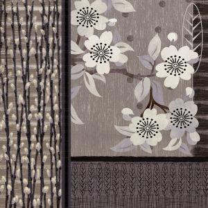Deco Blossom II by Linda Wood