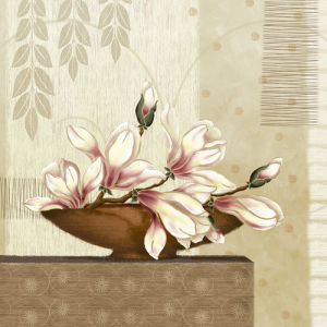 Gradiflora I by Linda Wood
