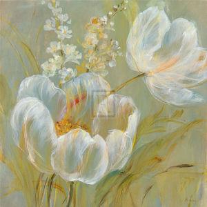 Haiku Of The Tulip II by Carson