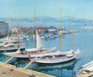 Sailing Days by Gabriel Deschamps