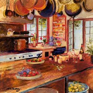 Kitchen II by Dennis Carney