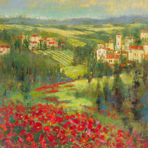 Provencal Village XIII by Longo