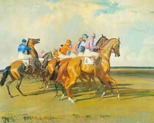 Under Starters Orders by Sir Alfred Munnings