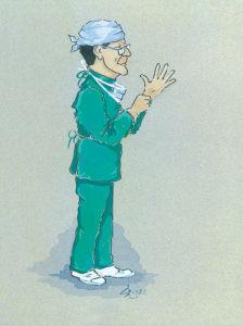 The Surgeon by Simon Dyer