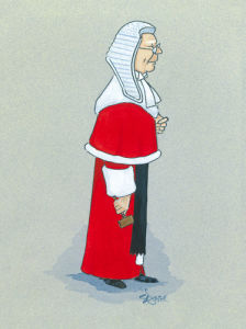 The High Court Judge by Simon Dyer