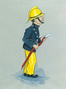 The Fireman by Simon Dyer