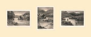 The Elusive Salmon Triptych by Douglas Adams