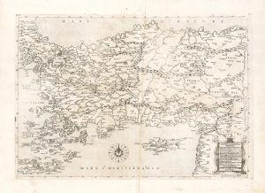 Il Disegno D'Geografia Moderna Della Provincia Di Natolia by G. Gastaldi