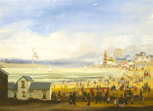 Beach Scene by Braaq