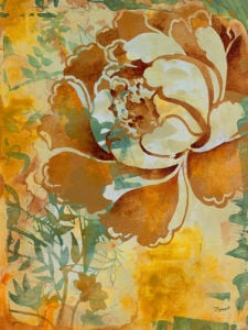 Graphic Floral I by Dysart