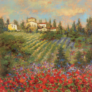 Provencal Village XII by Longo