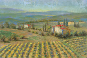 Hills Of Tuscany by Longo