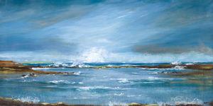 Sea Wall II by Angellini